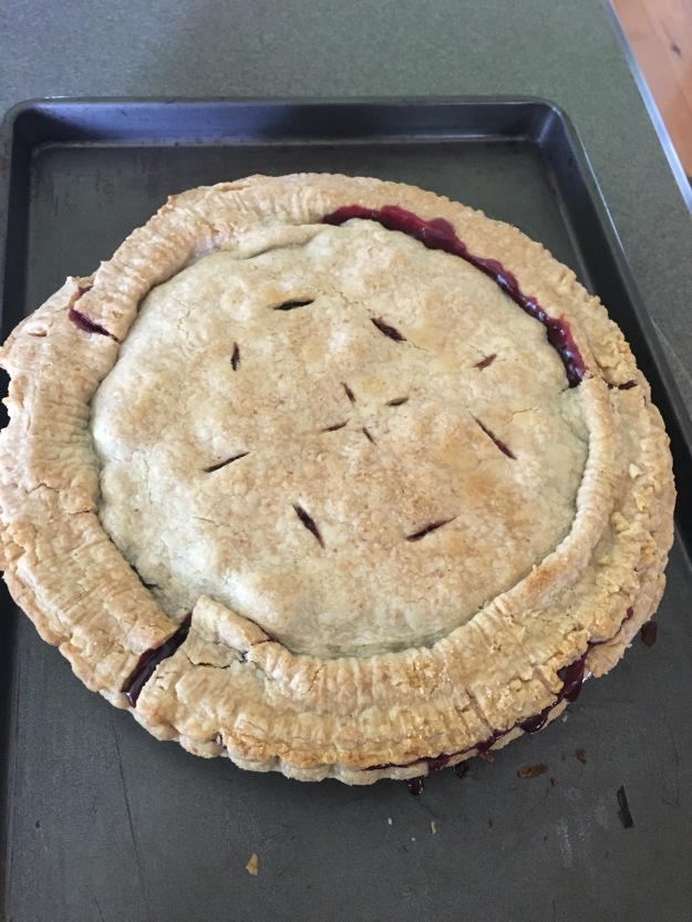 IMG Our Blackberry Pie -served with BlueBell Vanilla Ice cream