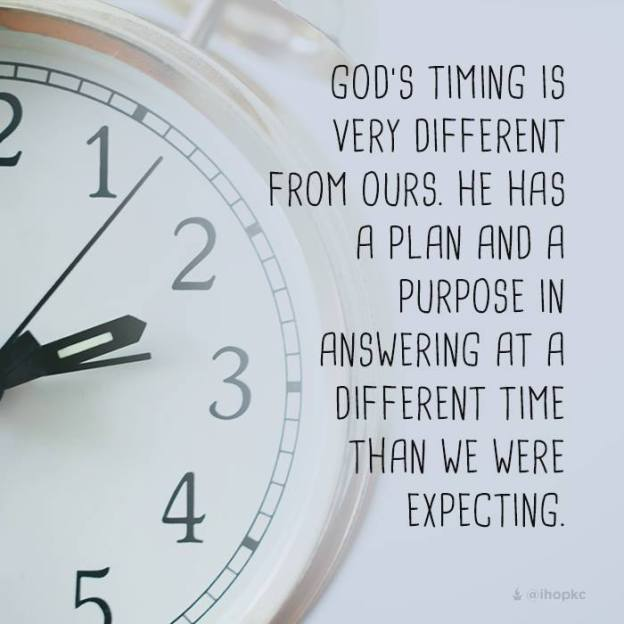 blog Gods timing