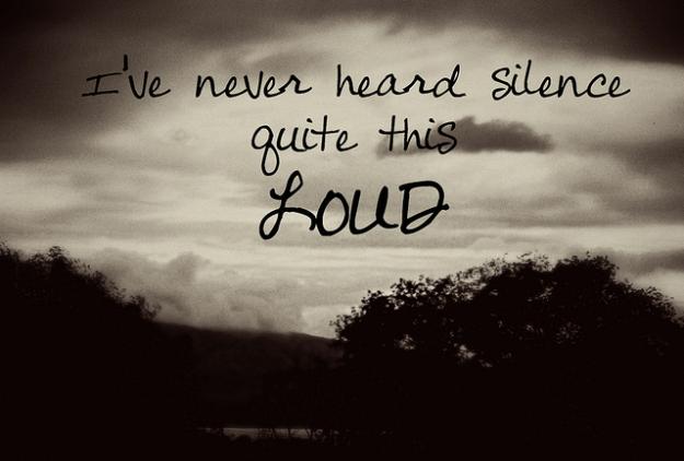 Blog Media File i've never heaard silence to loud